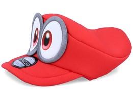 Kids Super Mario Odyssey Hat Red Flexfit - Nintendo
