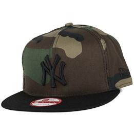 95f13ebbd29 New Era NY Yankees Camo Crown Green 9Fifty Snapback - New Era AU  44.99 AU   49.99