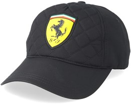 Quilt Black Adjustable - Ferrari