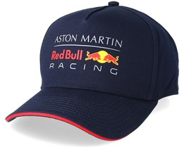 Red Bull Racing Classic Navy Strapback - Red Bull