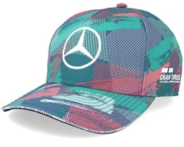 Mercedes AMG Petronas Barcelona Multi Teal Adjustable - Formula One