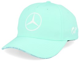 Mercedes Lewis Green/White Adjustable - Formula One