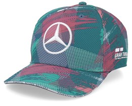 Kids Mercedes AMG Petronas Barcelona Multi Teal Adjustable - Formula One