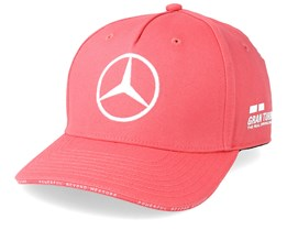 Kids Mercedes AMG Petronas L.Hamilton Silverstone Pink Adjustable - Formula One