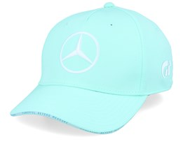 Kids Mercedes Lewis Green/White Adjustable - Formula One