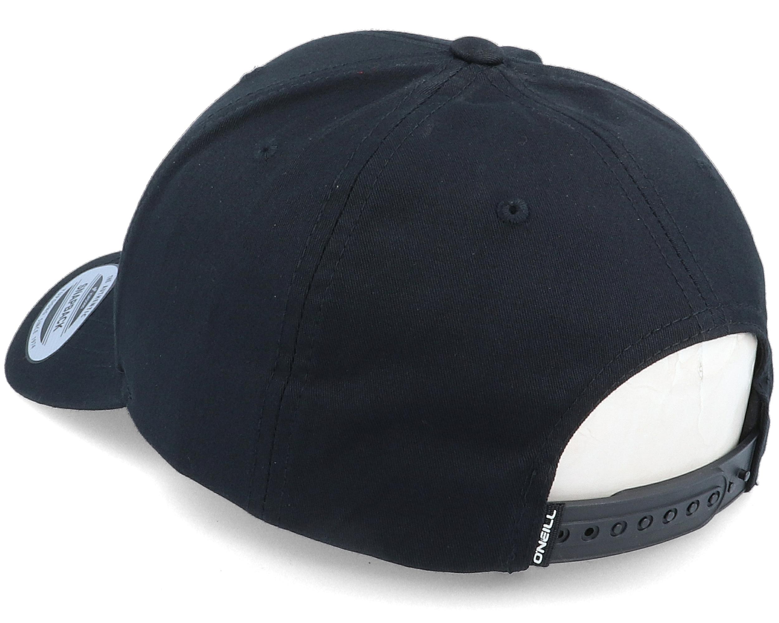 Bm Cross Side Black 110 Adjustable - Bearded Man caps