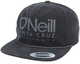 Bm Beach Cap Black Out Snapback - O'Neill