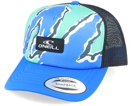 Bb Trucker Cap Blue Aop W/ Black Trucker - O'Neill