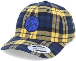 Check Dad Cap Yellow/Blue Adjustable - O'Neill