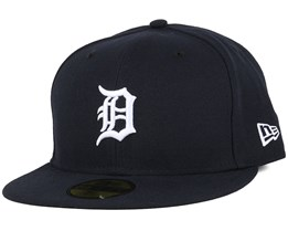 Detroit Tigers Authentic On-Field Home 59Fifty Dark Navy Fitted - New Era
