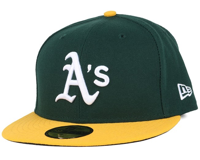 0103a20f5cf0 Oakland Athletics Authentic On-Field Home 59Fifty - New Era caps ...