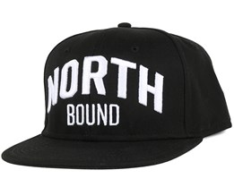 North Bound Black Snapback - Northern Hooligans