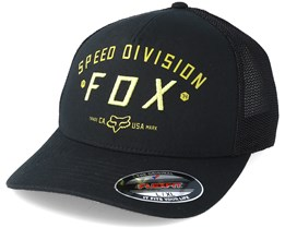 Speed Division Trucker Black Flexfit - Fox