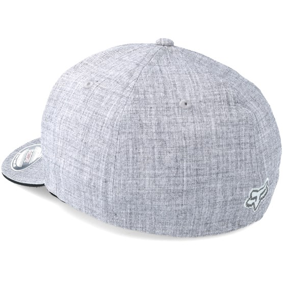 a8e4c8d1c41de Set in Heather Grey Flexfit - Fox caps - Hatstoreworld.com