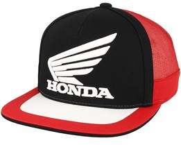 Honda Black/Red Trucker - Fox
