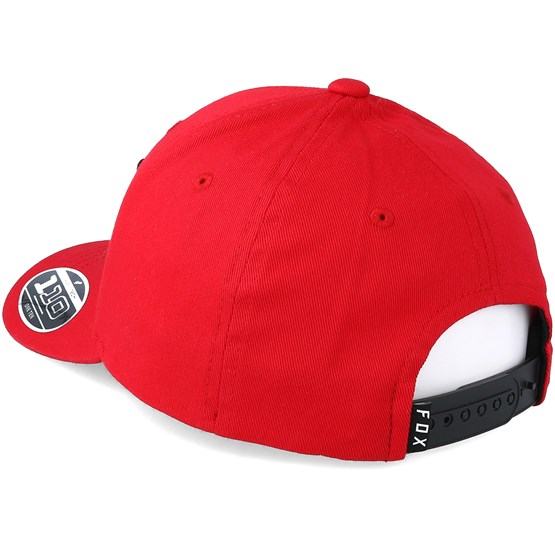 54b3af785d1 Kids Legacy Moth 110 Red Adjustable - Fox caps - Hatstoreaustralia.com