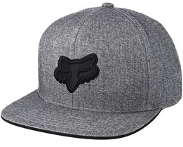 Legacy Heather Grey Snapback - Fox
