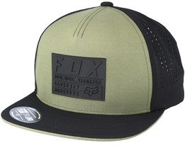 Redplate Tech Fat Green Snapback - Fox
