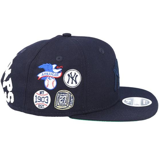 New York Yankees Winners Patch Navy Snapback New Era