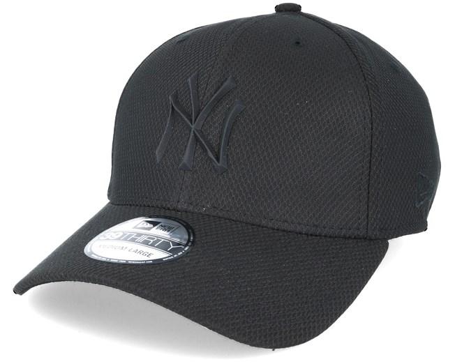 79f9165351b New York Yankees Rubber Prime 39Thirty Black - New Era cap - Hatstore.de