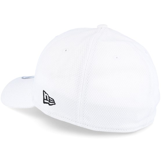 93df1bf839a Los Angeles Dodgers Rubber Prime 39Thirty White - New Era caps -  Hatstoreworld.com
