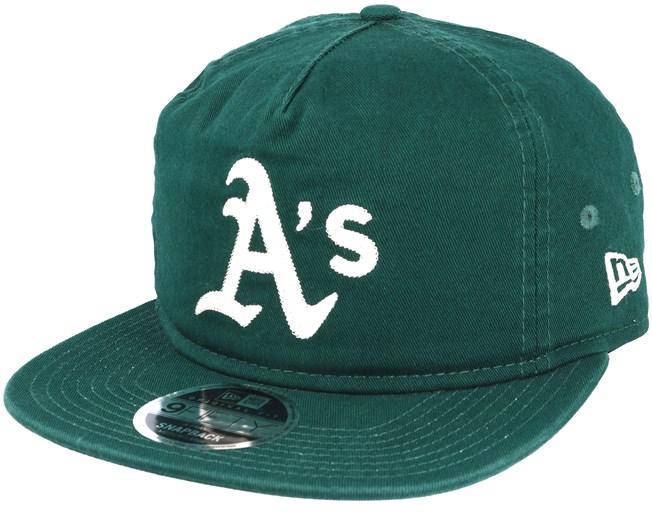 849b81ba469cb Oakland Athletics Chain Stitch Green Snapback - New Era caps -  Hatstoreworld.com