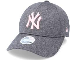 New York Yankees Tech Jersey 9Forty WMN Grey/Pink Adjustable - New Era