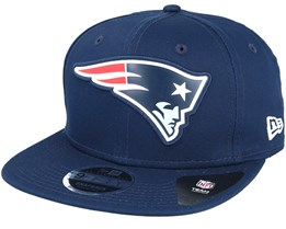 New England Patriots Team Logo Weld Navy Snapback - New Era