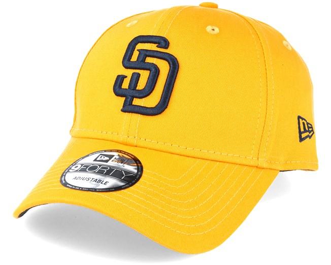 e0e85fd69 San Diego Padres League Essential Yellow Adjustable - New Era caps ...