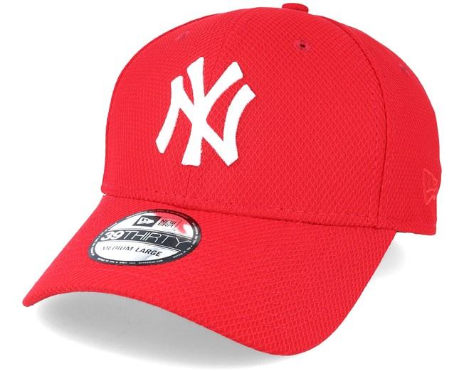 70737412610 New York Yankees Diamond Essential Red Flexfit - New Era caps -  Hatstoreworld.com