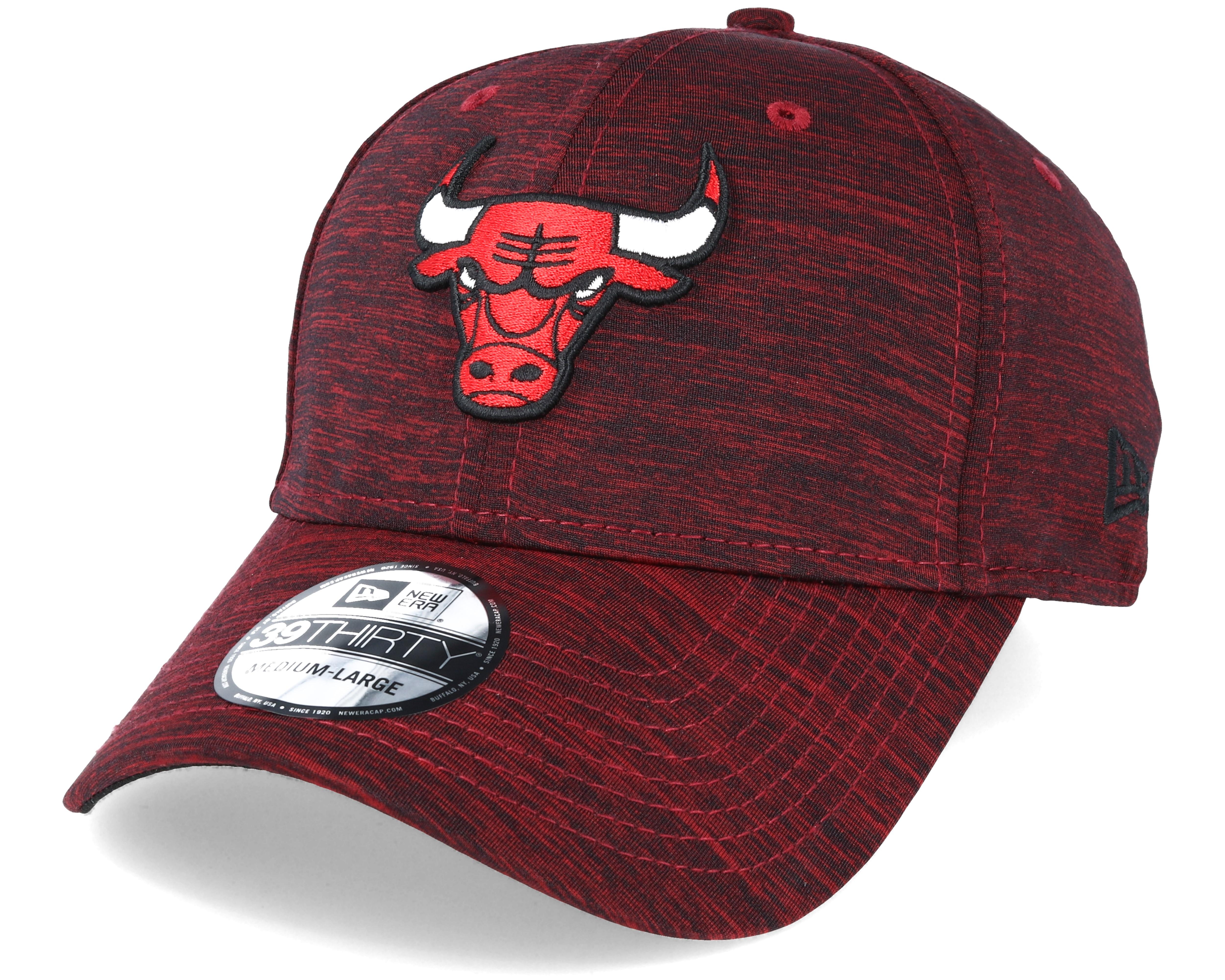 buy popular 09239 54212 Chicago Bulls Stretch Space Dye Red 39Thirty - New Era