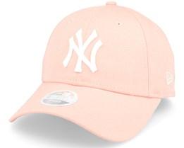 New York Yankees League Essential Women Pink Adjustable - New Era