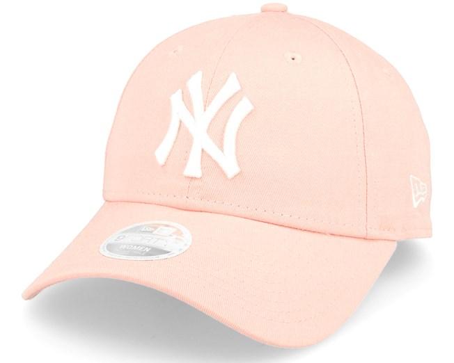 New York Yankees League Essential Women Pink Adjustable - New Era caps -  Hatstoreworld.com 3e281e33286