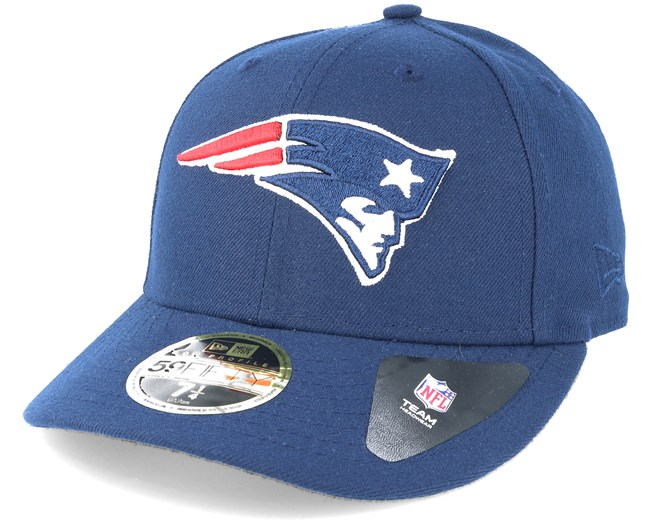 c15d5bf2142 New England Patriots Team Classic Low Profile 59Fifty Navy Fitted - New Era  caps - Hatstoreworld.com