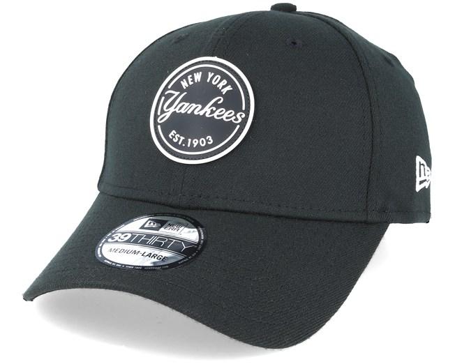 New Era 9FIFTY Rubber Emblem New York Yankees Cap Gray