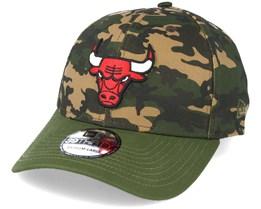 Chicago Bulls Team Stretch Camo 39Thirty - New Era