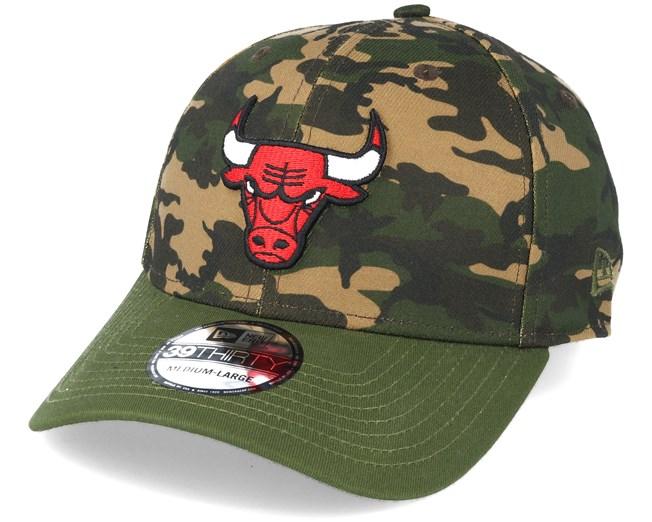 e12a7ac682f Chicago Bulls Team Stretch Camo 39Thirty - New Era caps -  Hatstoreaustralia.com