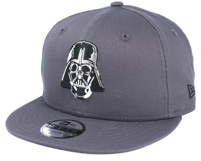 497cdf00eb Kids Star Wars Ess 950 Jr Darth Vader Grey Adjustable - New Era caps ...