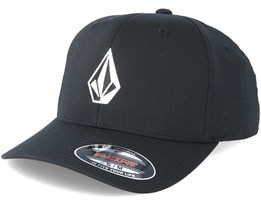 Full Stone Black Flexfit - Volcom