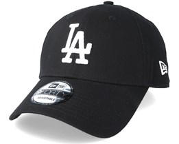 d58a1e73da0cd Los Angeles Dodgers League Essential 9Forty Black Adjustable - New Era
