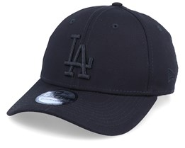 Los Angeles Dodgers League Essential 39Thirty Black/Black Flexfit - New Era