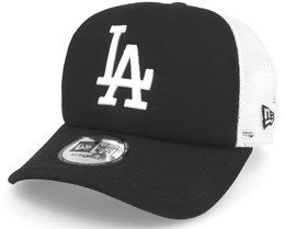 Los Angeles Dodgers Clean Black Trucker - New Era