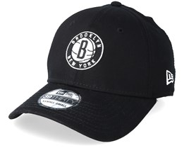 Brooklyn Nets 39thirty Black Flexfit - New Era