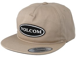 Hard Core In 94 Beige Snapback - Volcom