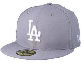 Los Angeles Dodgers 59Fifty Basic Grey Fitted - New Era