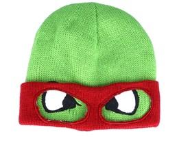 TMNT Retro Turtle Raphael Reversible Green Cuff - Bioworld
