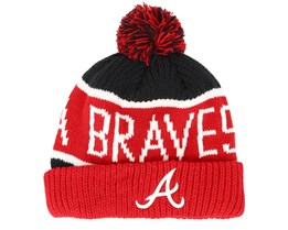 Atlanta Braves Calgary Red/Navy Pom - 47 Brand