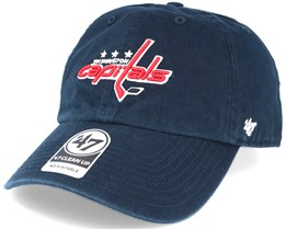 Washington Capitals Clean Up Navy Adjustable - 47 Brand