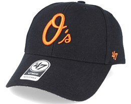 Baltimore Orioles Mvp Black Adjustable - 47 Brand
