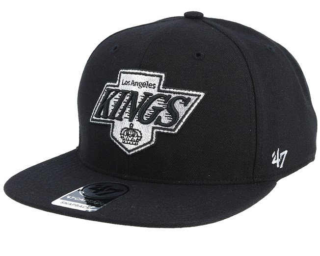 1bfa54f2 La Kings Sure Shot Black Snapback - 47 Brand caps - Hatstoreworld.com